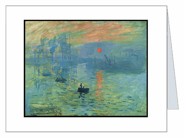 Claude Monet French Impressionist Soleil Levant ART